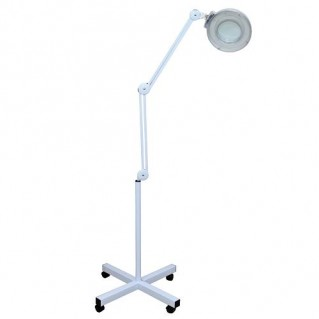 Лампа-лупа 3 диоптрий + стойка на колёсиках 382 (ЛЭД)