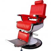 Мужское парикмахерское кресло Томми Red