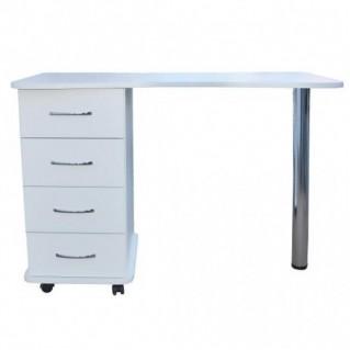 Маникюрный стол с одной тумбой Эсти